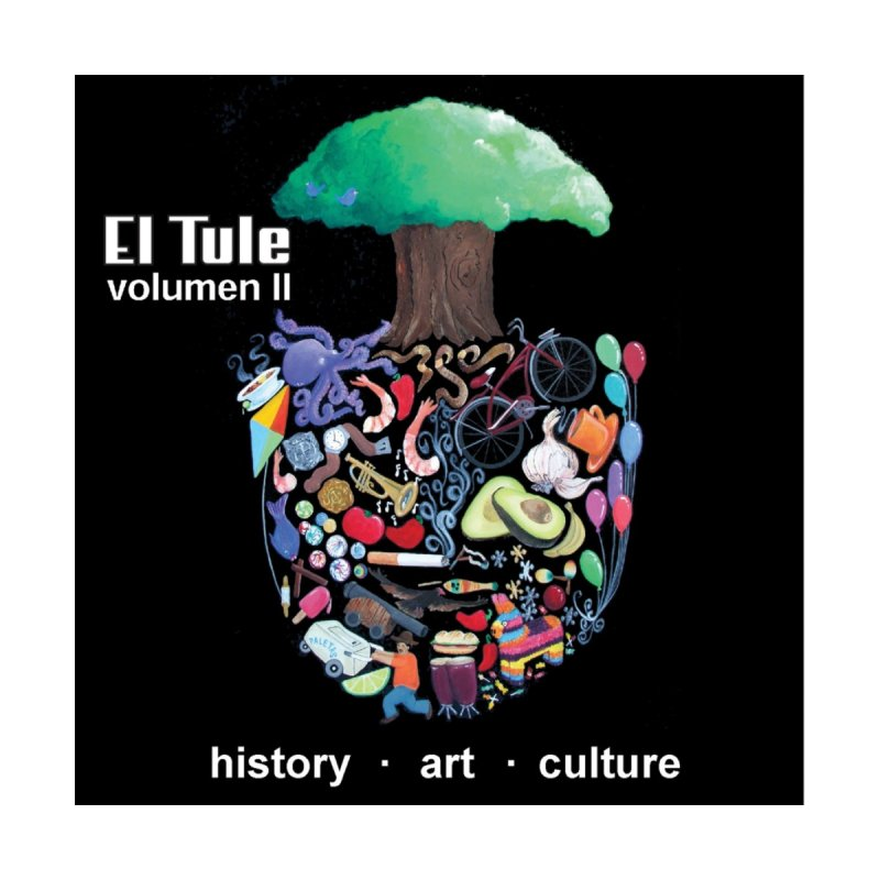 "El Tule ""Volumen II"" Album Cover Home Throw Pillow by El Tule Store"