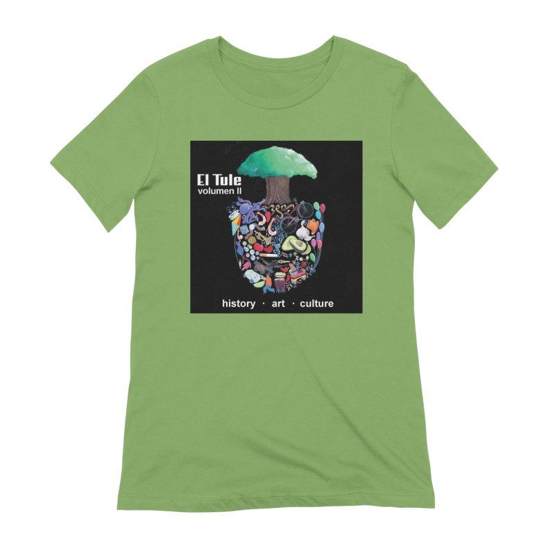 "El Tule ""Volumen II"" Album Cover Women's Extra Soft T-Shirt by El Tule Store"