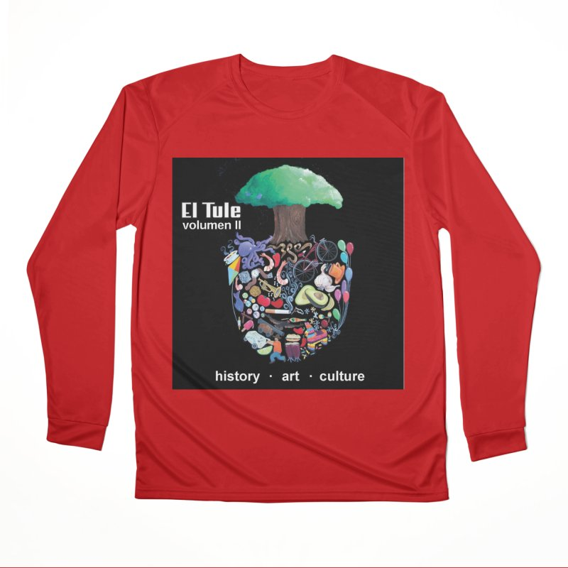 "El Tule ""Volumen II"" Album Cover Men's Performance Longsleeve T-Shirt by El Tule Store"