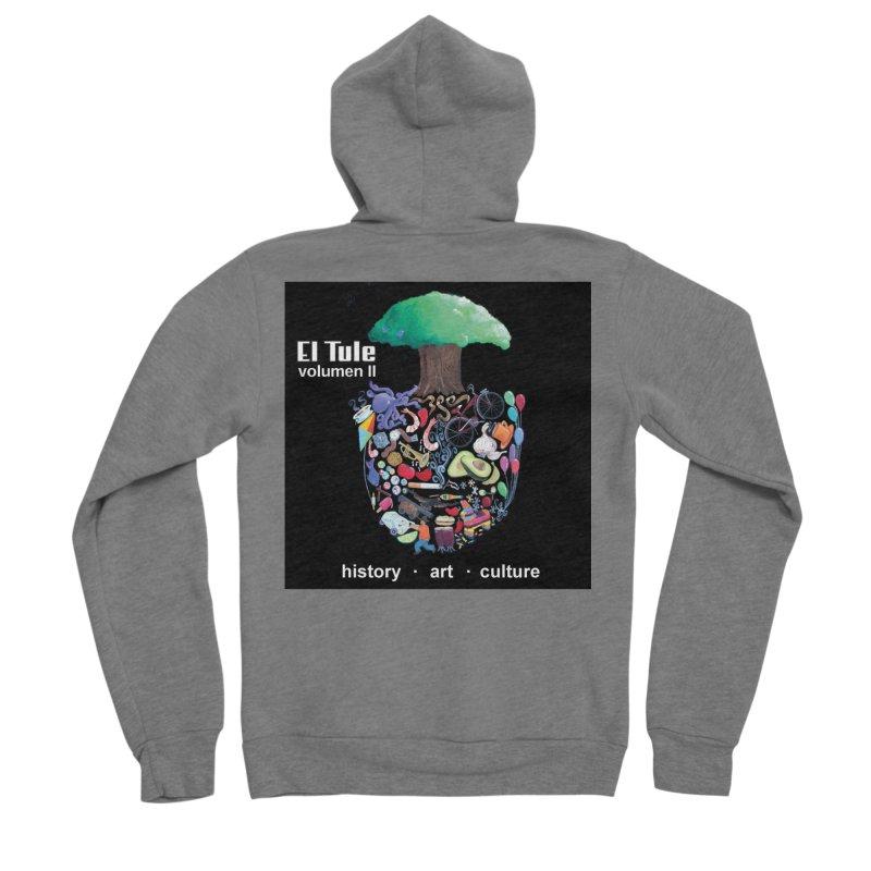 """El Tule """"Volumen II"""" Album Cover Women's Sponge Fleece Zip-Up Hoody by El Tule Store"""