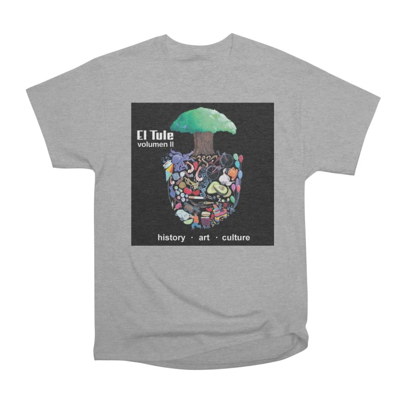 "El Tule ""Volumen II"" Album Cover Men's Heavyweight T-Shirt by El Tule Store"
