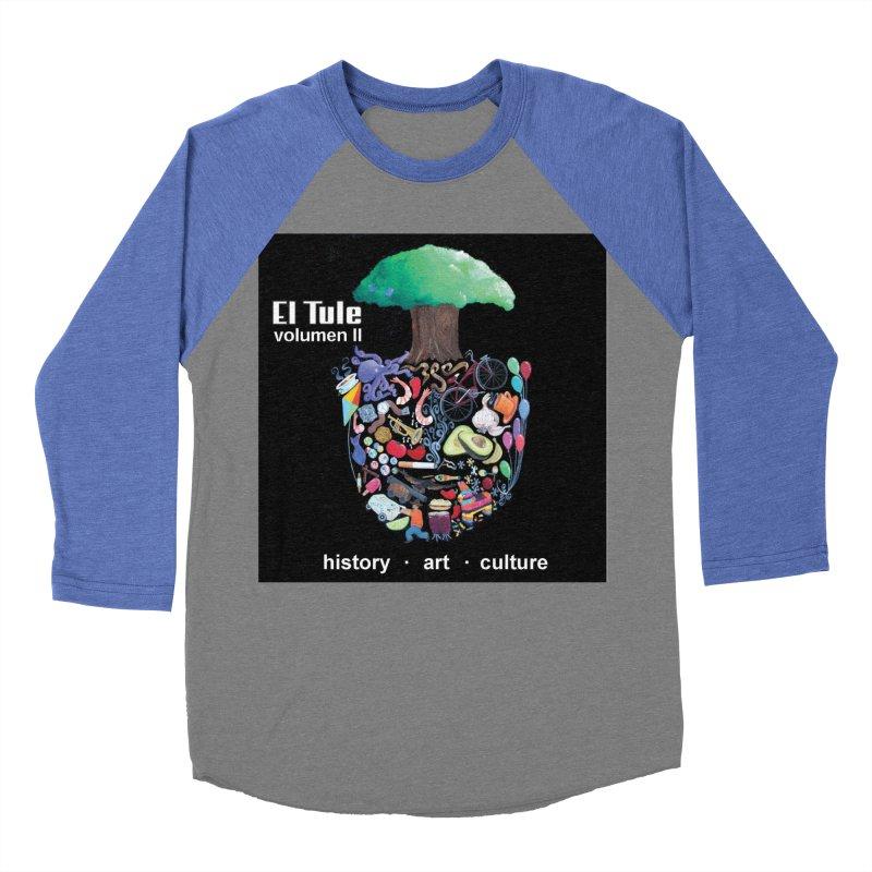 "El Tule ""Volumen II"" Album Cover Women's Baseball Triblend Longsleeve T-Shirt by El Tule Store"
