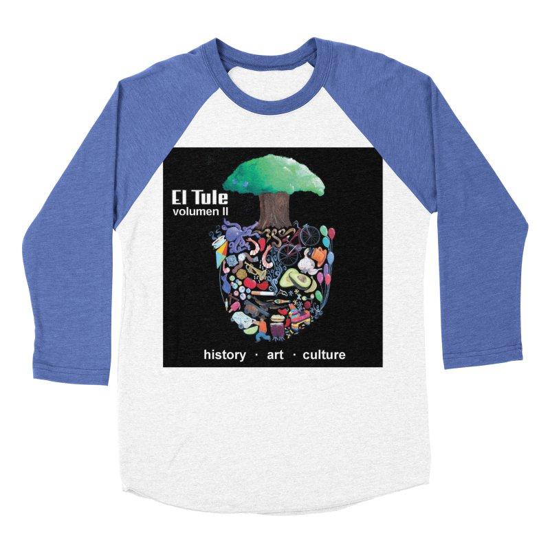 """El Tule """"Volumen II"""" Album Cover Men's Baseball Triblend Longsleeve T-Shirt by El Tule Store"""