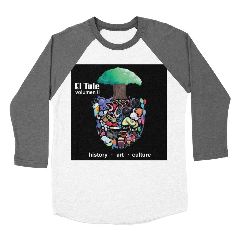 "El Tule ""Volumen II"" Album Cover Men's Baseball Triblend Longsleeve T-Shirt by El Tule Store"