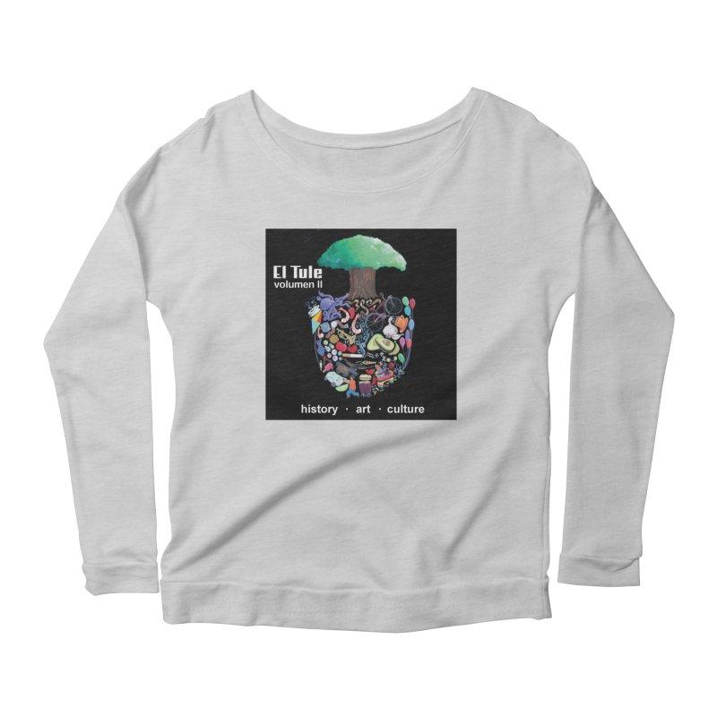 """El Tule """"Volumen II"""" Album Cover Women's Scoop Neck Longsleeve T-Shirt by El Tule Store"""