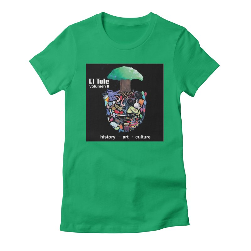 "El Tule ""Volumen II"" Album Cover Women's Fitted T-Shirt by El Tule Store"