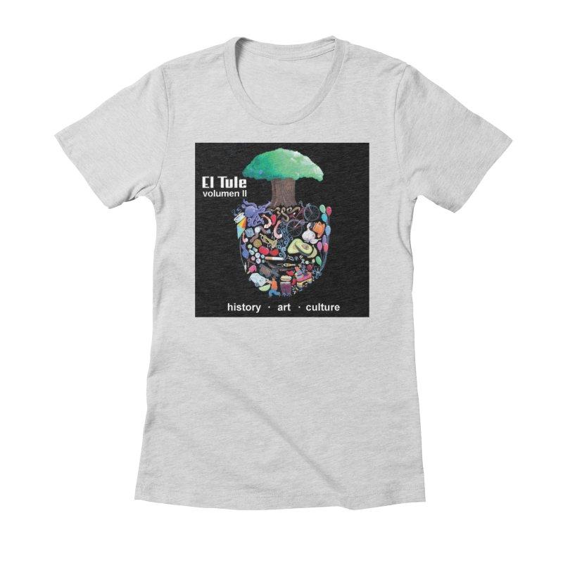 """El Tule """"Volumen II"""" Album Cover Women's Fitted T-Shirt by El Tule Store"""