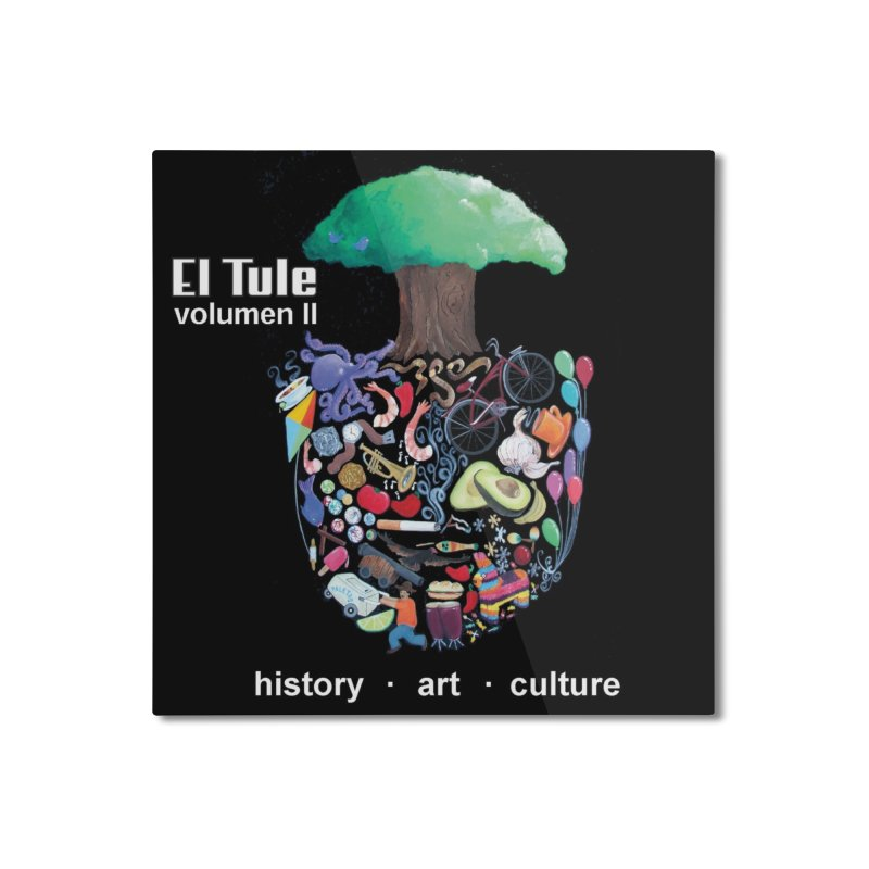 "El Tule ""Volumen II"" Album Cover Home Mounted Aluminum Print by El Tule Store"