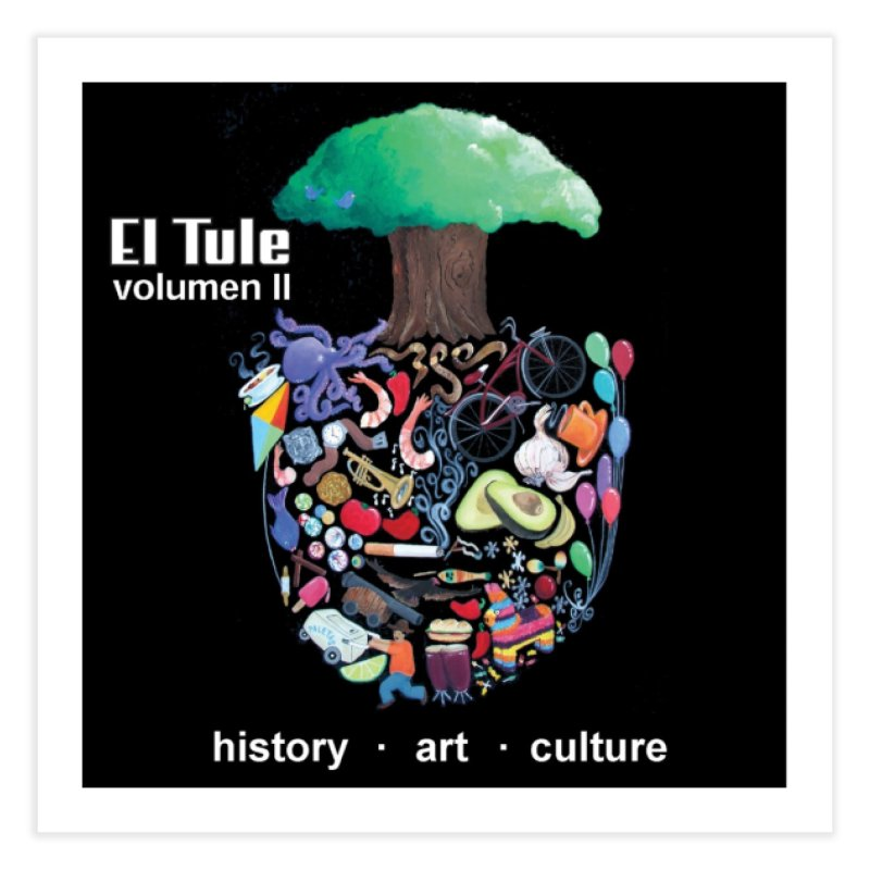 "El Tule ""Volumen II"" Album Cover Home Fine Art Print by El Tule Store"