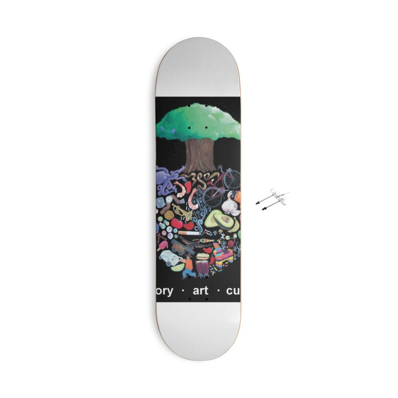 "El Tule ""Volumen II"" Album Cover Accessories With Hanging Hardware Skateboard by El Tule Store"