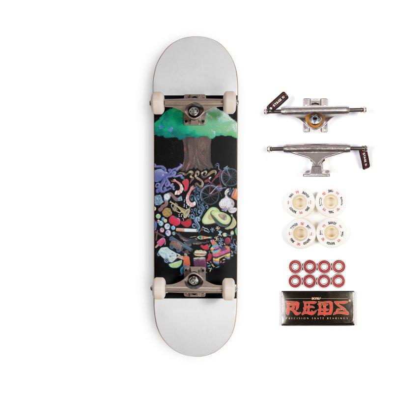 "El Tule ""Volumen II"" Album Cover Accessories Complete - Pro Skateboard by El Tule Store"