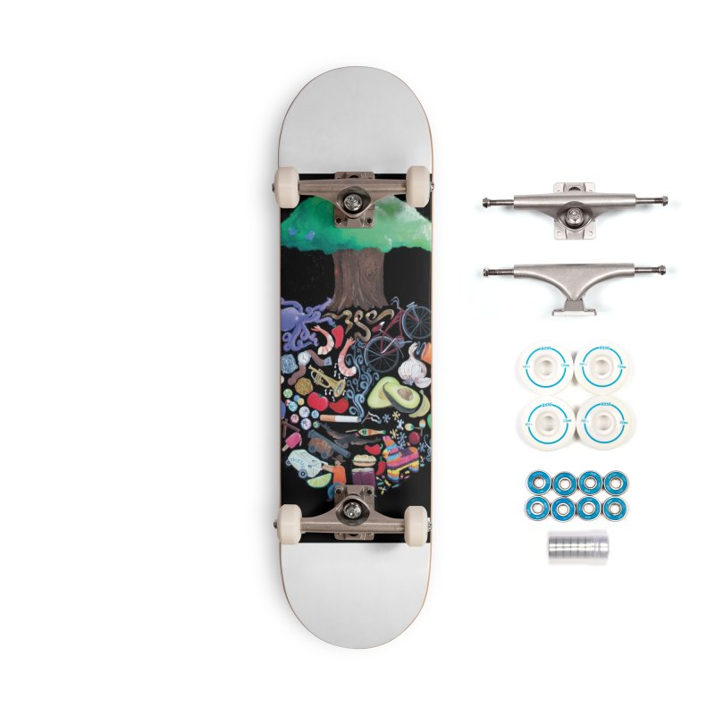 "El Tule ""Volumen II"" Album Cover Accessories Complete - Basic Skateboard by El Tule Store"