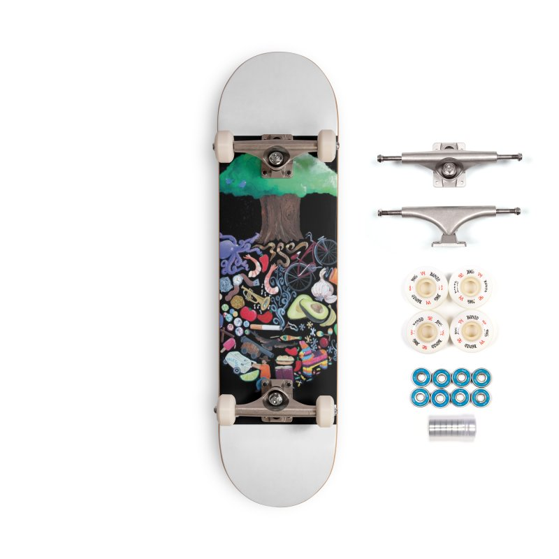 "El Tule ""Volumen II"" Album Cover Accessories Complete - Premium Skateboard by El Tule Store"
