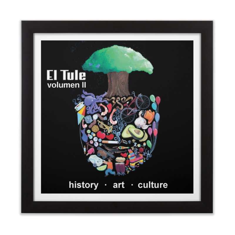 """El Tule """"Volumen II"""" Album Cover Home Framed Fine Art Print by El Tule Store"""
