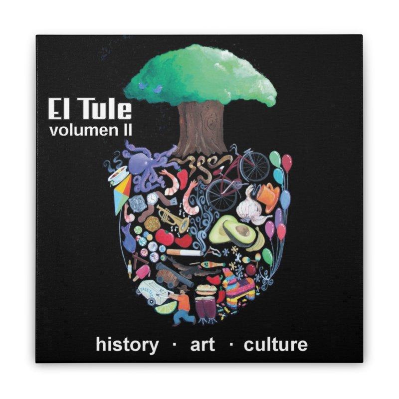 """El Tule """"Volumen II"""" Album Cover Home Stretched Canvas by El Tule Store"""