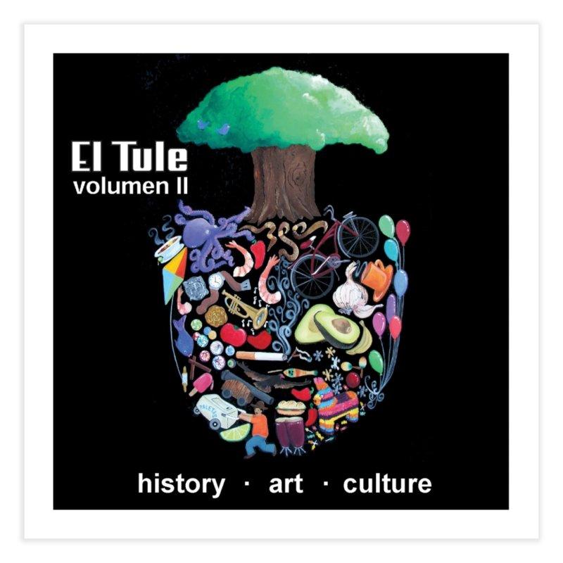"""El Tule """"Volumen II"""" Album Cover Home Fine Art Print by El Tule Store"""