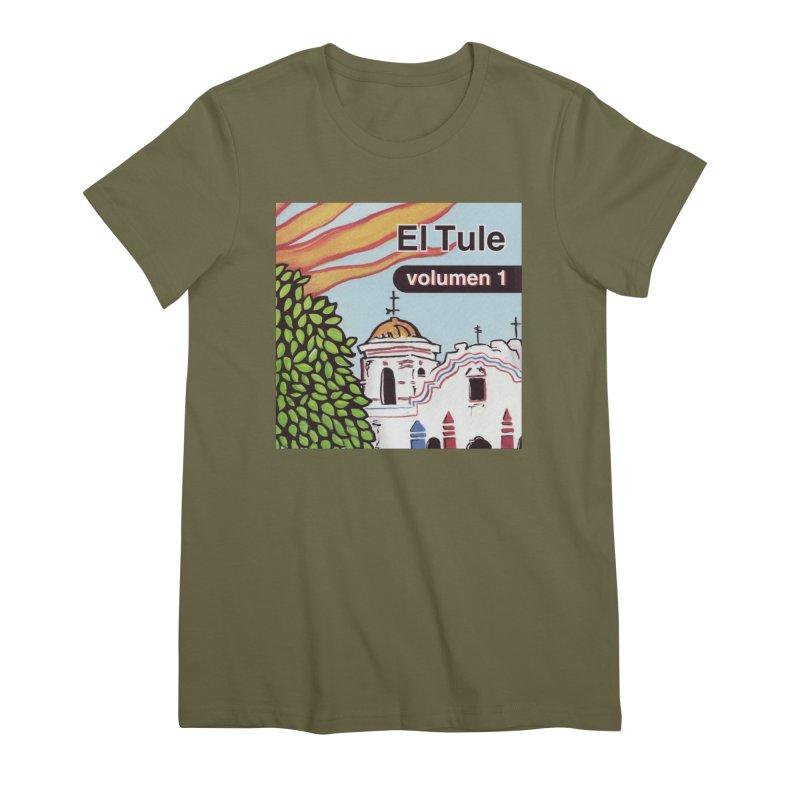 """El Tule """"Volumen I"""" Album Cover Women's Premium T-Shirt by El Tule Store"""