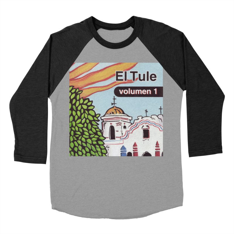"El Tule ""Volumen I"" Album Cover Men's Baseball Triblend Longsleeve T-Shirt by El Tule Store"
