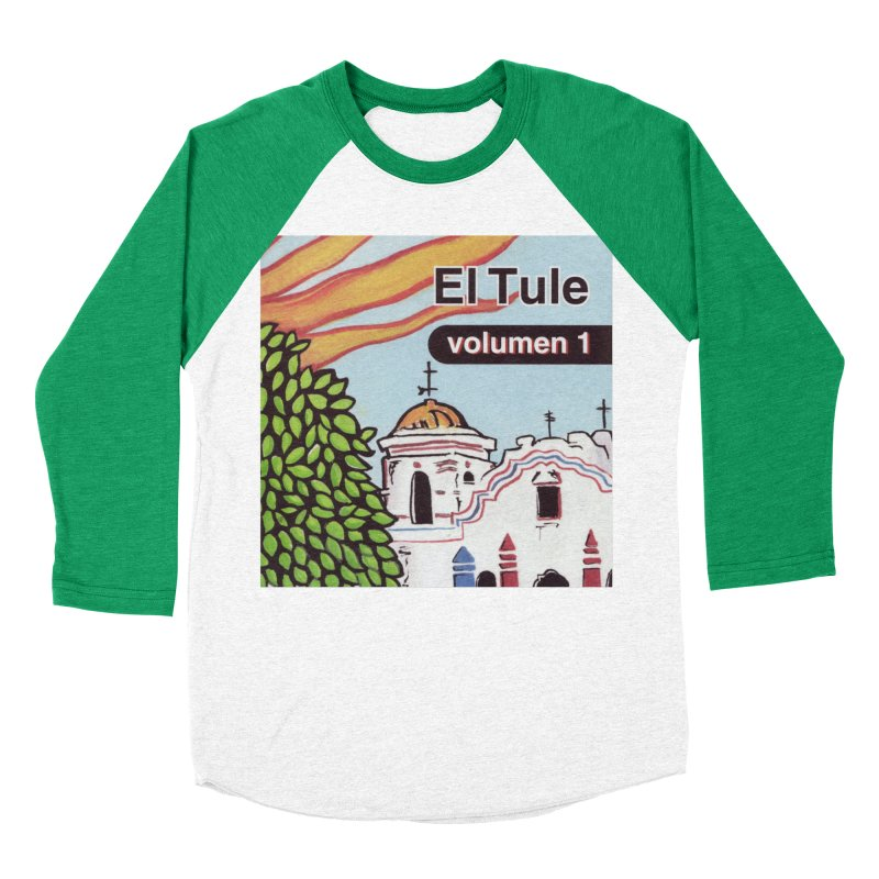 "El Tule ""Volumen I"" Album Cover Men's Baseball Triblend Longsleeve T-Shirt by El Tule Store"