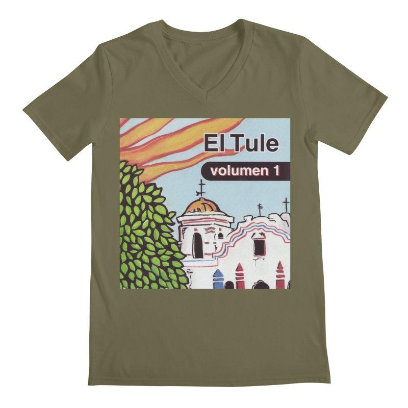 "El Tule ""Volumen I"" Album Cover Men's Regular V-Neck by El Tule Store"