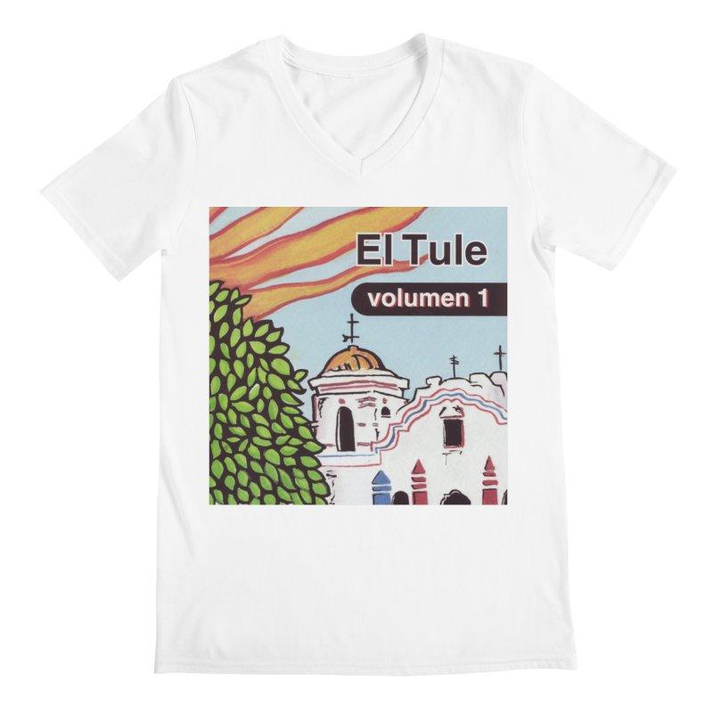 """El Tule """"Volumen I"""" Album Cover Men's V-Neck by El Tule Store"""