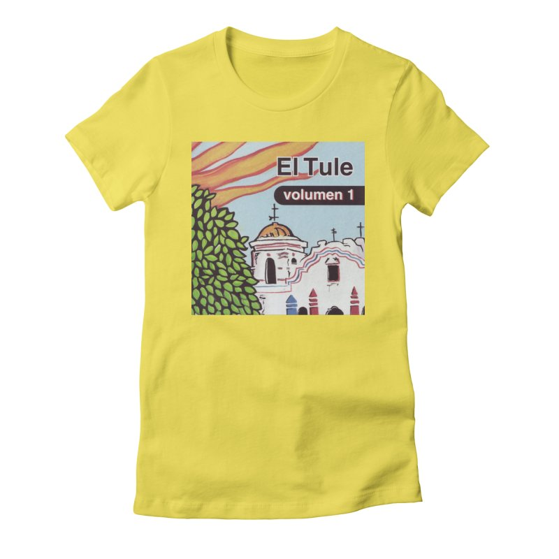 "El Tule ""Volumen I"" Album Cover Women's Fitted T-Shirt by El Tule Store"