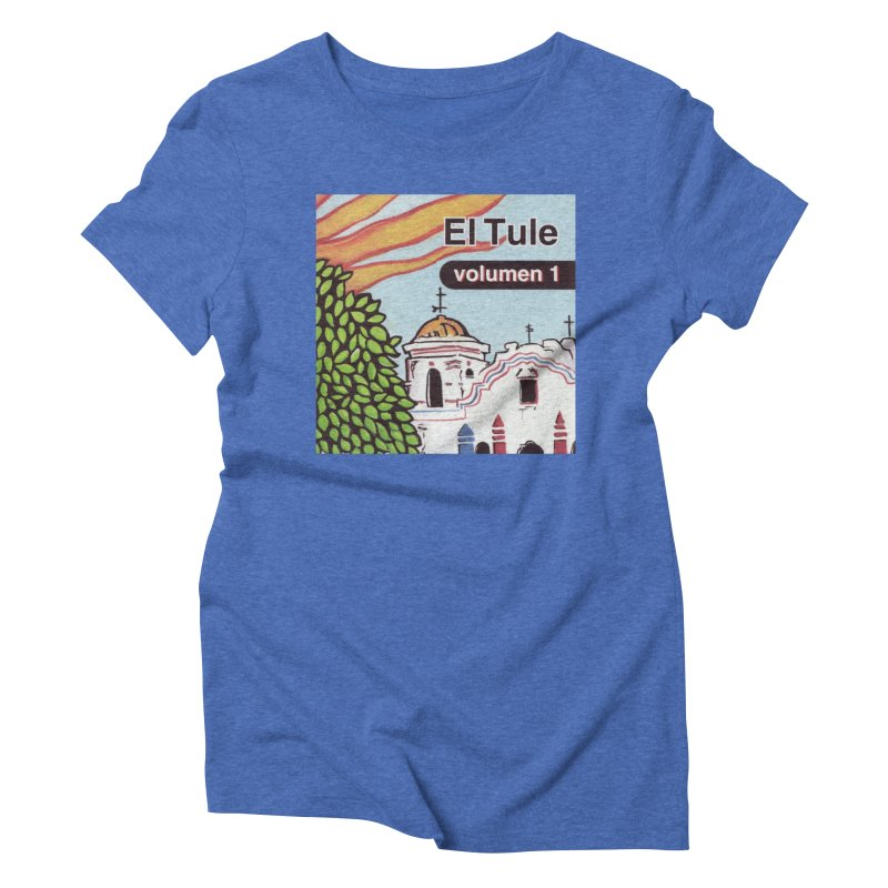 "El Tule ""Volumen I"" Album Cover Women's Triblend T-Shirt by El Tule Store"