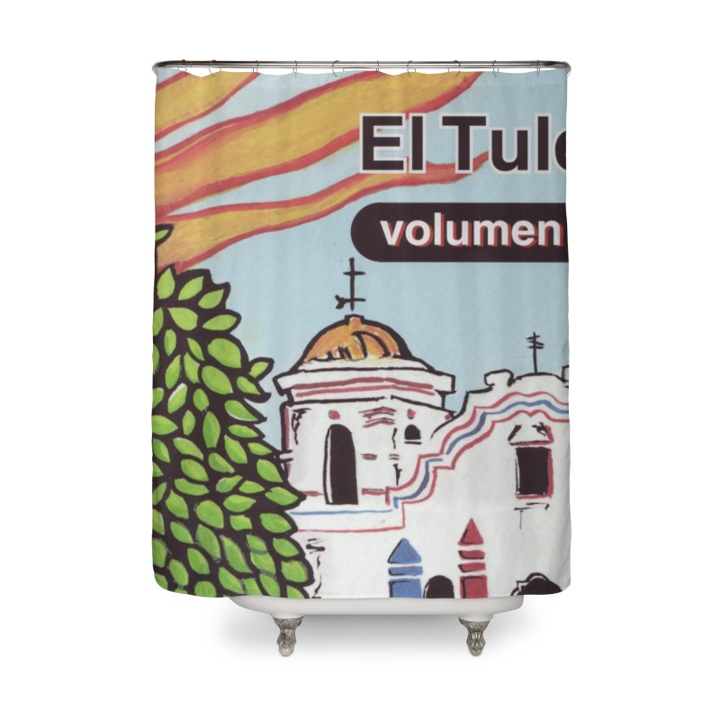 "El Tule ""Volumen I"" Album Cover Home Shower Curtain by El Tule Store"