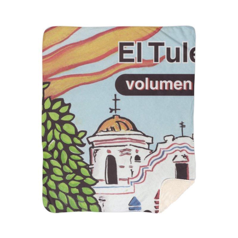"""El Tule """"Volumen I"""" Album Cover Home Sherpa Blanket Blanket by El Tule Store"""