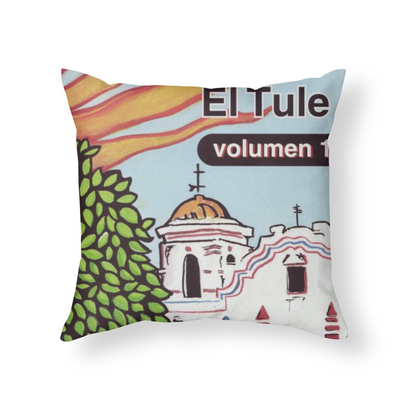 "El Tule ""Volumen I"" Album Cover Home Throw Pillow by El Tule Store"