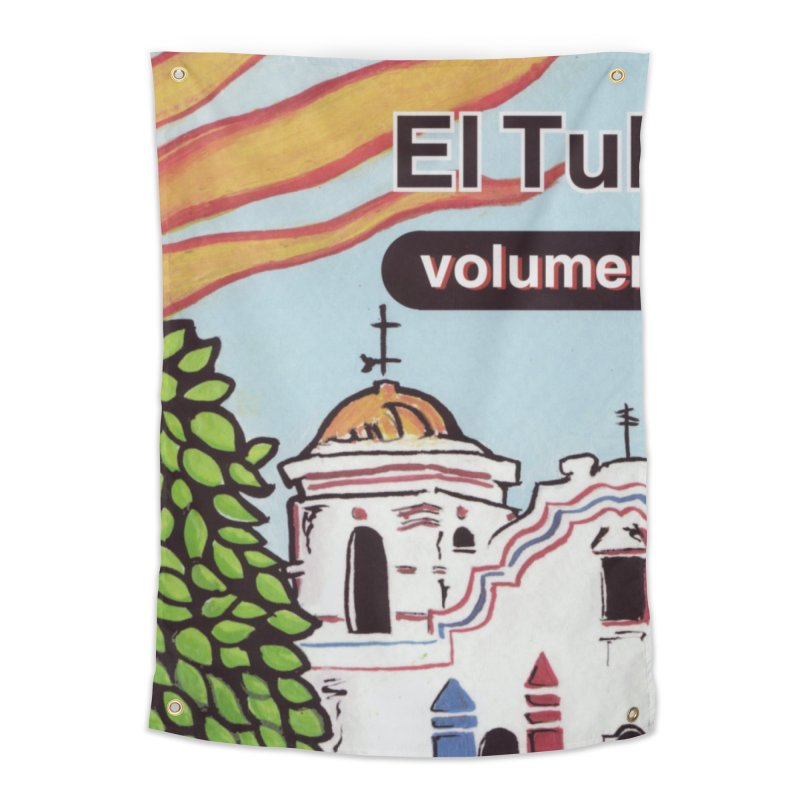"""El Tule """"Volumen I"""" Album Cover Home Tapestry by El Tule Store"""