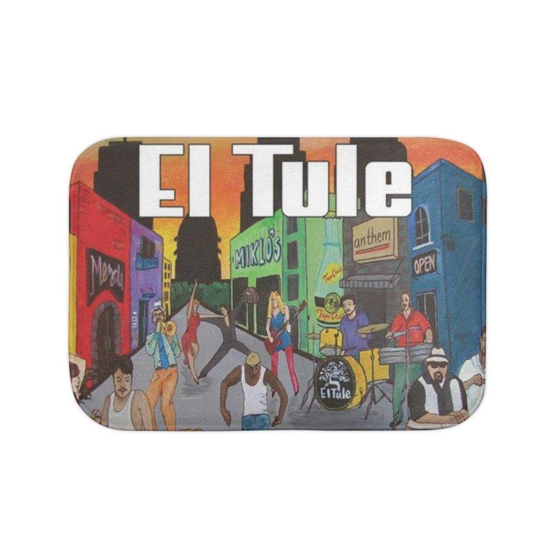 """El Tule """"Hecho In Austin Vol III"""" Album Cover Home Bath Mat by El Tule Store"""