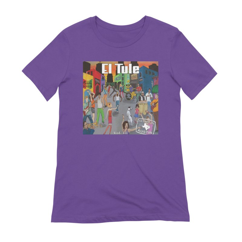"El Tule ""Hecho In Austin Vol III"" Album Cover Women's Extra Soft T-Shirt by El Tule Store"