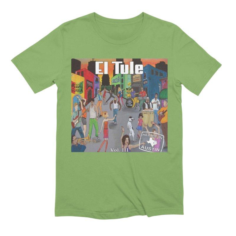 """El Tule """"Hecho In Austin Vol III"""" Album Cover Men's Extra Soft T-Shirt by El Tule Store"""