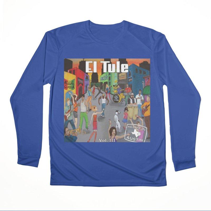 """El Tule """"Hecho In Austin Vol III"""" Album Cover Men's Performance Longsleeve T-Shirt by El Tule Store"""