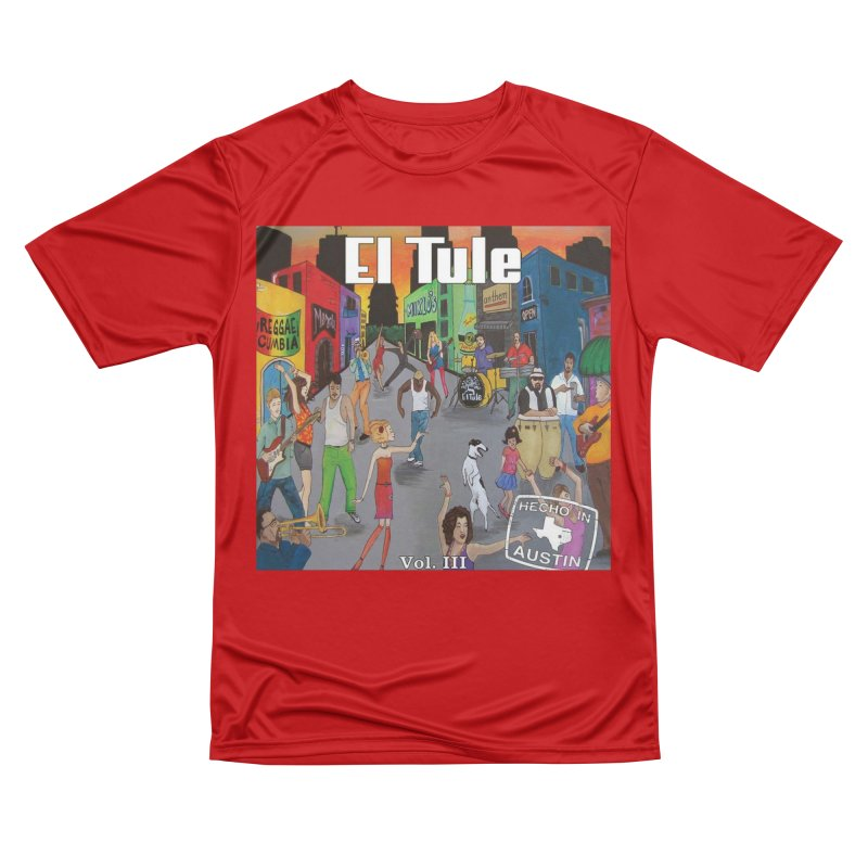 "El Tule ""Hecho In Austin Vol III"" Album Cover Men's Performance T-Shirt by El Tule Store"