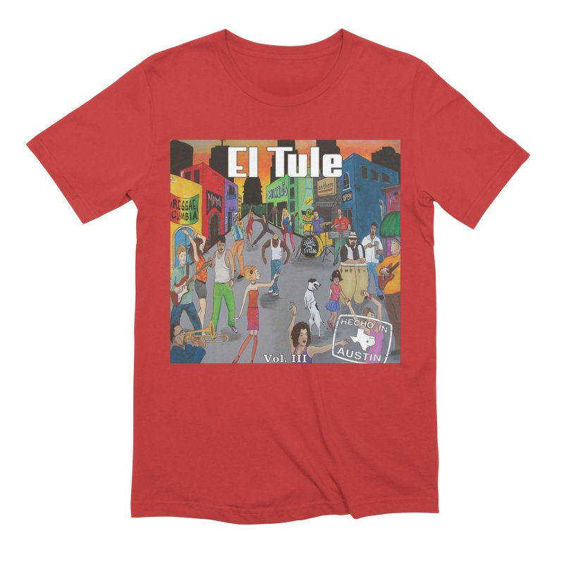 "El Tule ""Hecho In Austin Vol III"" Album Cover Men's Extra Soft T-Shirt by El Tule Store"