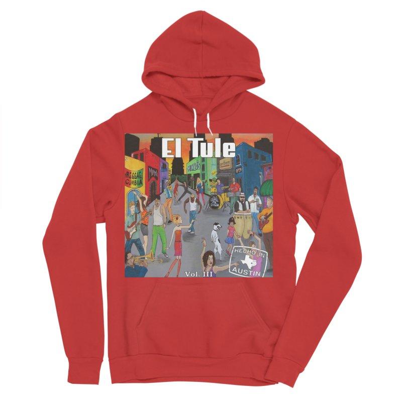 "El Tule ""Hecho In Austin Vol III"" Album Cover Men's Sponge Fleece Pullover Hoody by El Tule Store"