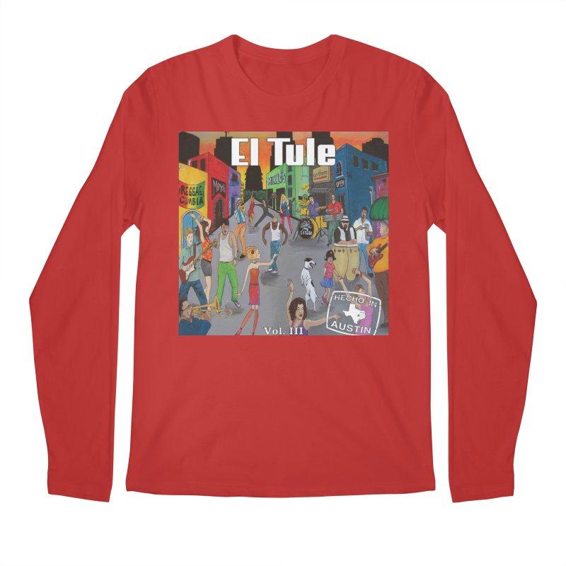 """El Tule """"Hecho In Austin Vol III"""" Album Cover Men's Regular Longsleeve T-Shirt by El Tule Store"""