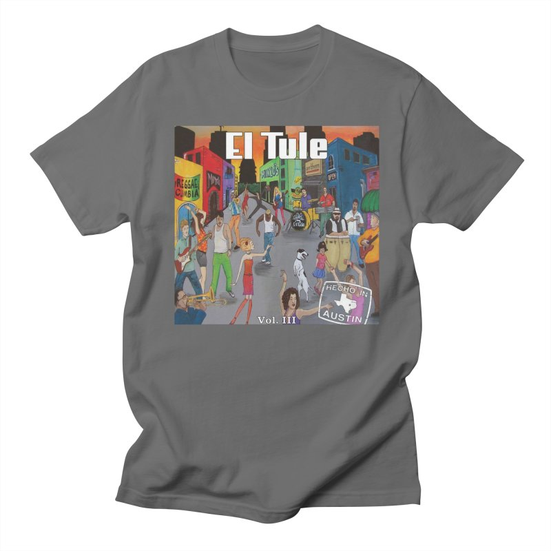 "El Tule ""Hecho In Austin Vol III"" Album Cover Men's T-Shirt by El Tule Store"