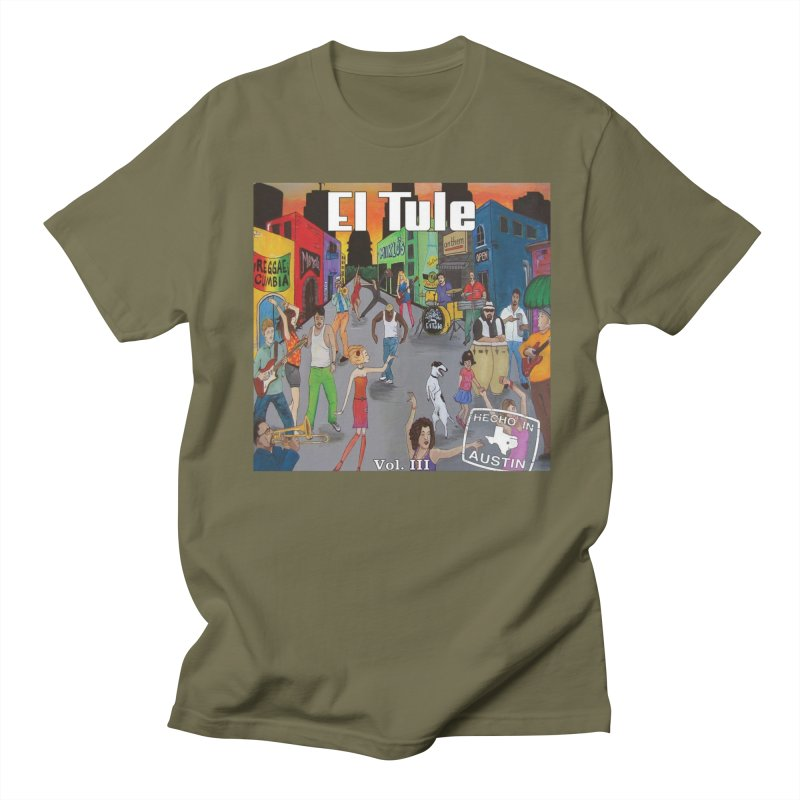 "El Tule ""Hecho In Austin Vol III"" Album Cover Men's Regular T-Shirt by El Tule Store"