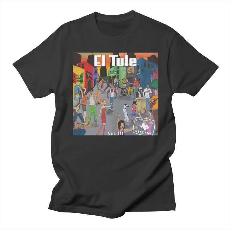 "El Tule ""Hecho In Austin Vol III"" Album Cover Men's Regular T-Shirt by El Tule Store"