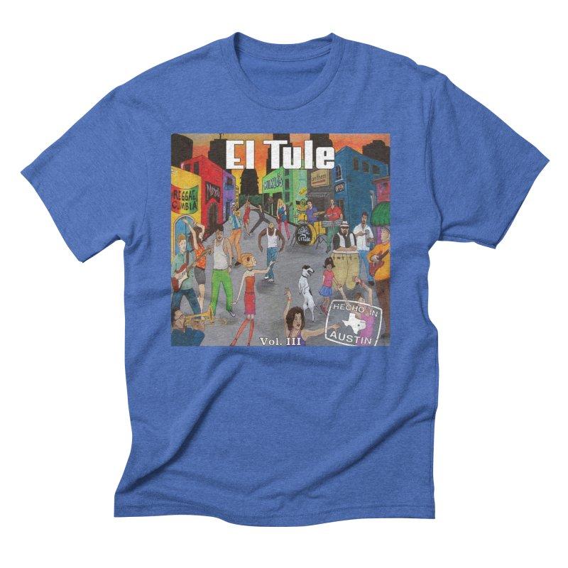 "El Tule ""Hecho In Austin Vol III"" Album Cover Men's T-Shirt by El Tule Store"