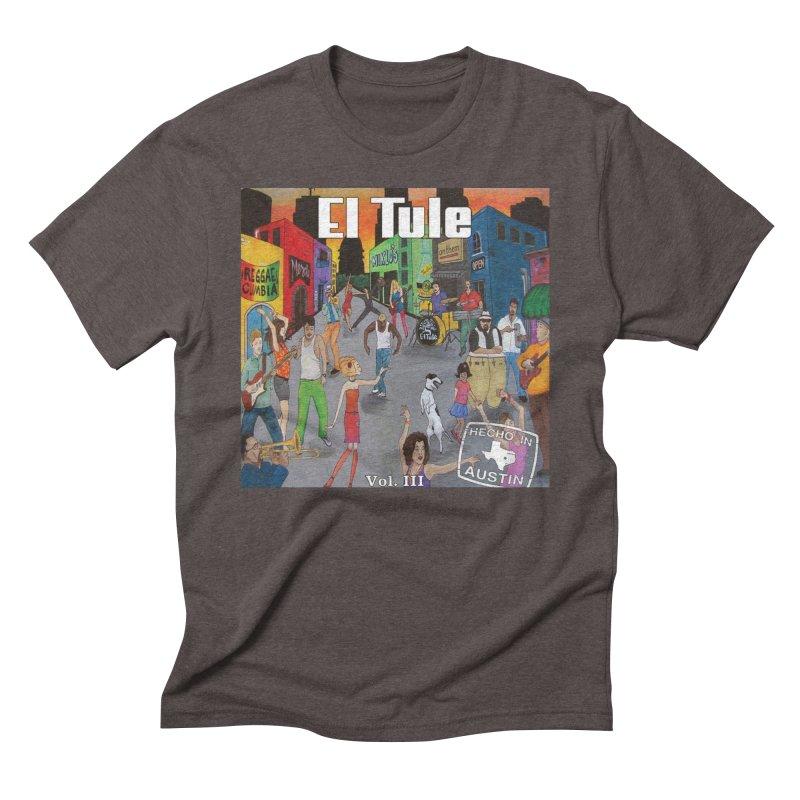 "El Tule ""Hecho In Austin Vol III"" Album Cover Men's Triblend T-Shirt by El Tule Store"
