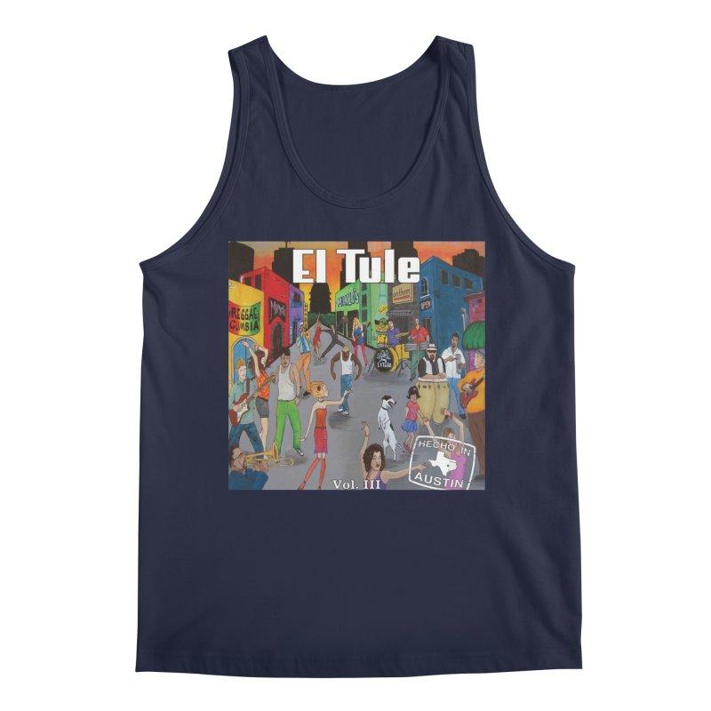 "El Tule ""Hecho In Austin Vol III"" Album Cover Men's Regular Tank by El Tule Store"