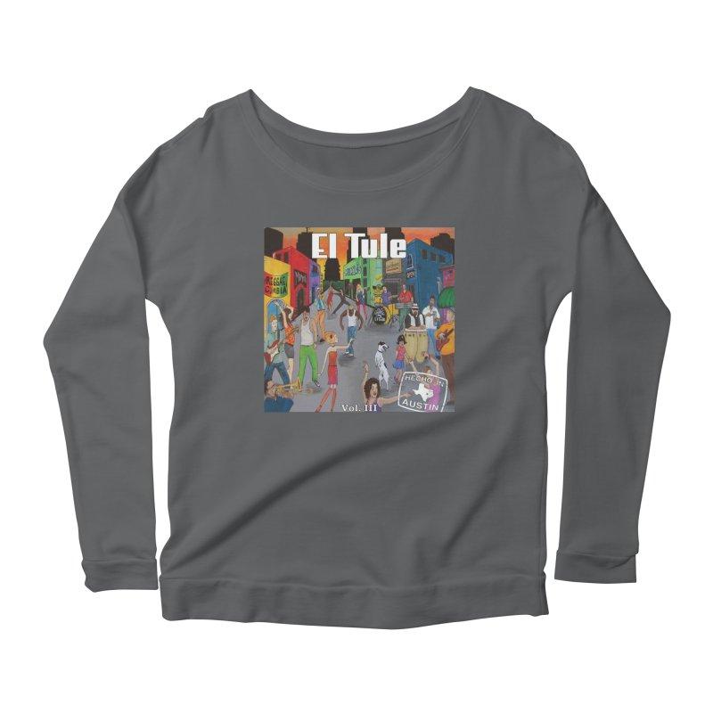 """El Tule """"Hecho In Austin Vol III"""" Album Cover Women's Longsleeve T-Shirt by El Tule Store"""