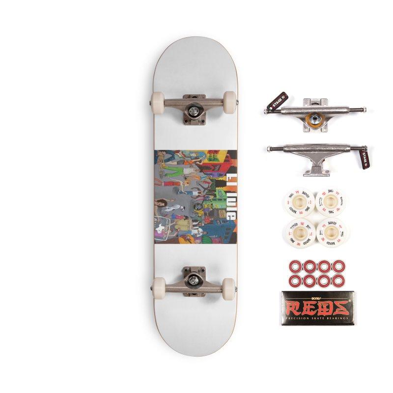 "El Tule ""Hecho In Austin Vol III"" Album Cover Accessories Complete - Pro Skateboard by El Tule Store"