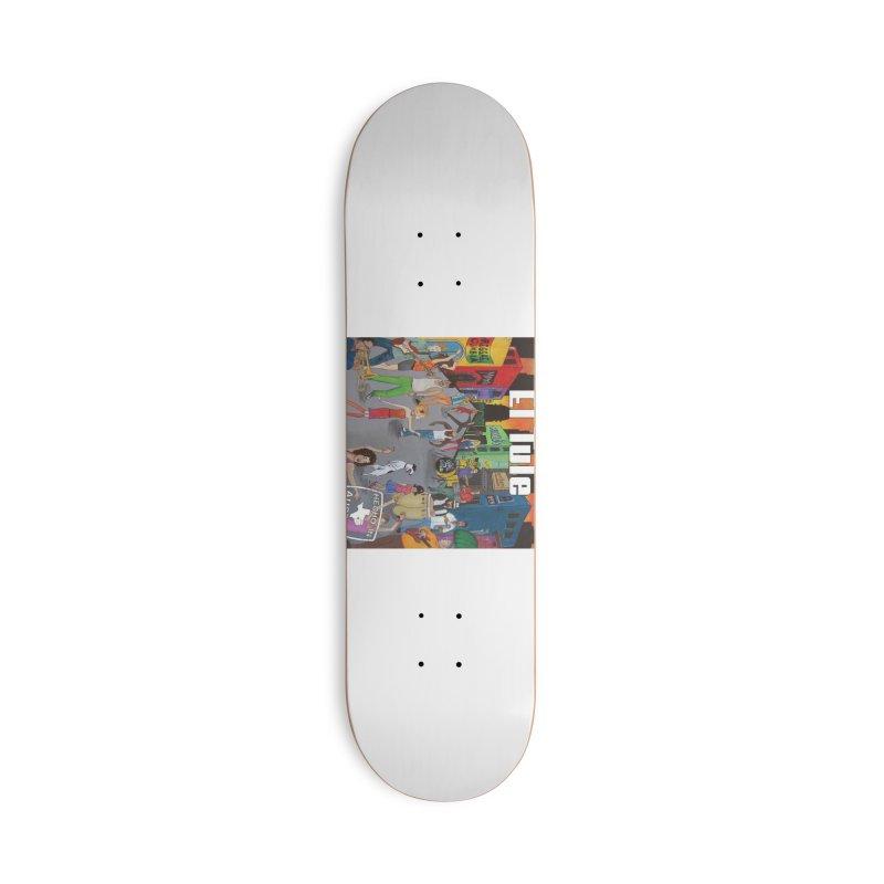 "El Tule ""Hecho In Austin Vol III"" Album Cover Accessories Deck Only Skateboard by El Tule Store"