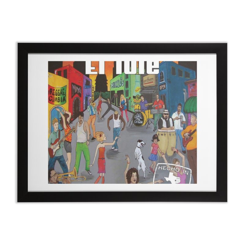 """El Tule """"Hecho In Austin Vol III"""" Album Cover Home Framed Fine Art Print by El Tule Store"""