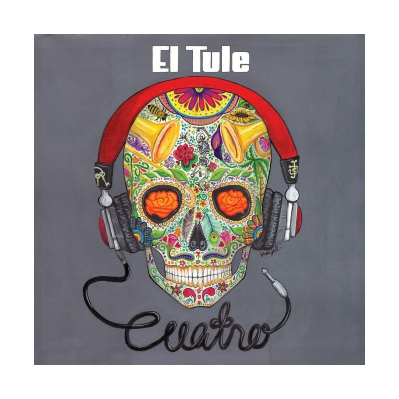 "El Tule ""Cuatro"" Album Cover Home Framed Fine Art Print by El Tule Store"